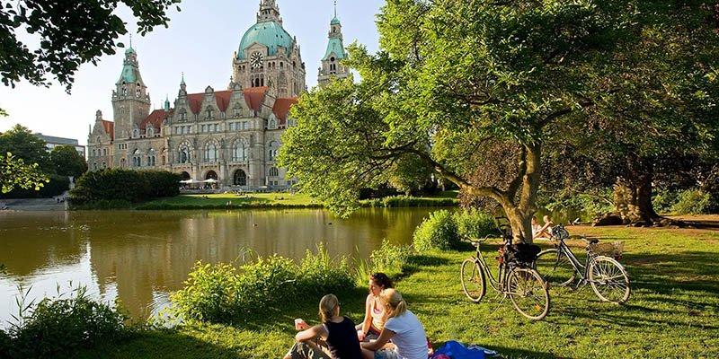 Sommer in Hannover
